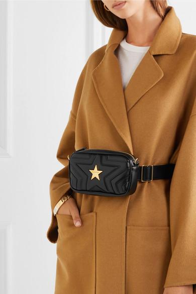 b95af4ab6ef1d Stella McCartney. Star quilted faux leather belt bag. £595. Zoom In