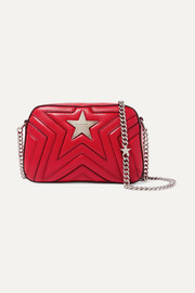 Stella McCartney Star quilted faux leather shoulder bag