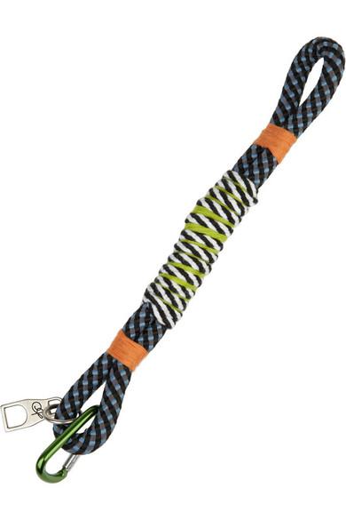 Woven cord bracelet