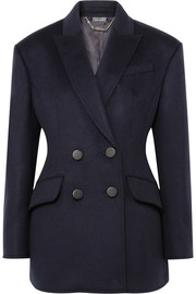Alexander McQueen Double-breasted wool blazer