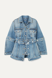 Alexander McQueen Convertible denim jacket