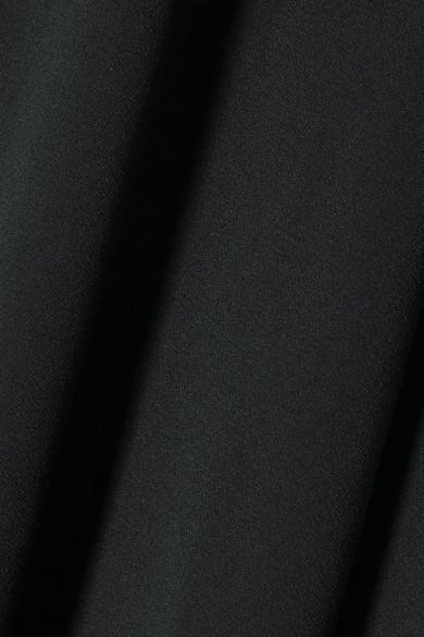 Alexander Mcqueen Skirts Fluted crepe maxi skirt