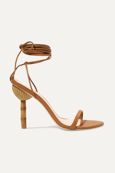Cult Gaia Luna Leather Sandals Huge Surprise Sale Online Explore Online Buy Sale Online Sale New Arrival Clearance Cheap Price Fd4K5t