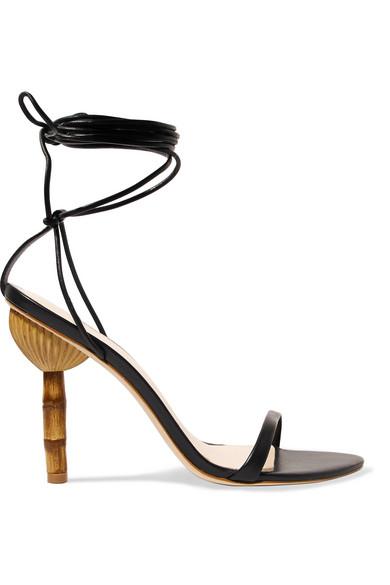 c954c465a843 Cult Gaia. Luna leather sandals