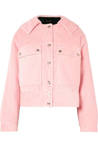 Cédric Charlier - Cotton-corduroy Jacket - Pink