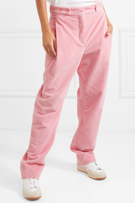 Cédric Charlier Cotton-corduroy pants