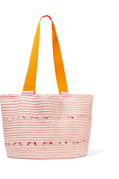 SOPHIE ANDERSON Hoya woven tote