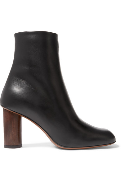 NEOUS Spath Leather Ankle Boots in Black