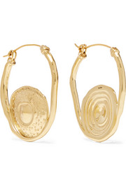 Ellery Gold-plated earrings