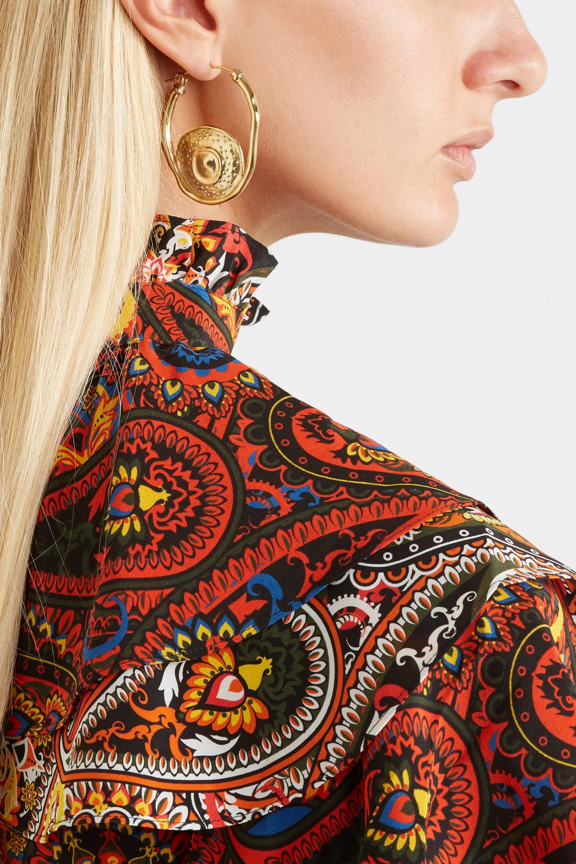 Ellery Gold-plated earrings
