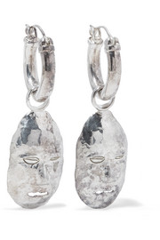 Ellery Morisco silver-plated earrings