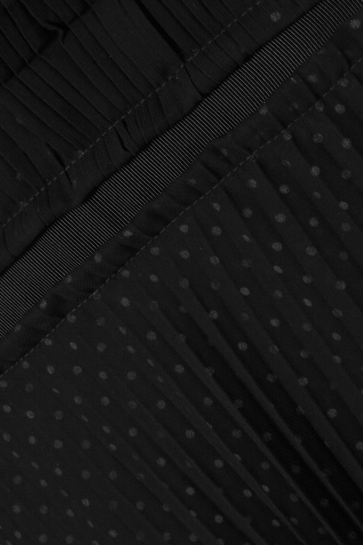 Loewe Mehrlagiges Maxikleid aus Chiffon mit Polka-Dots