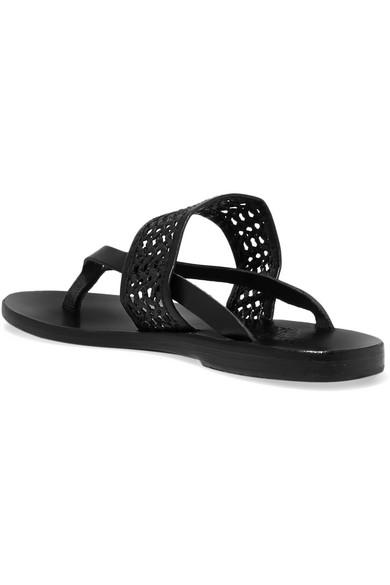 Ancient Greek Sandals Raffiabast | Zenobia Sandalen aus geflochtenem Raffiabast Sandals und Leder fd206a