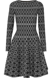 Alaïa Jacquard-knit dress