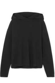 Alaïa Hooded wool-blend sweater