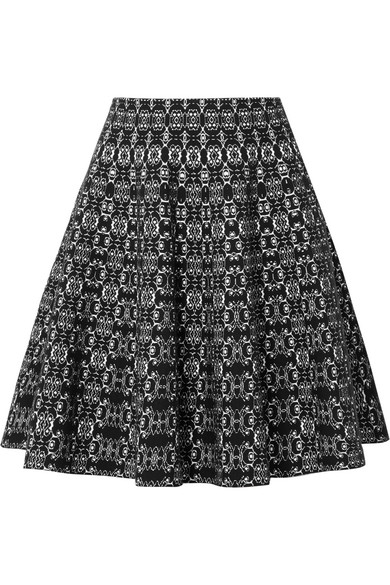f179a7a9b14 Alaïa | Jacquard-knit mini skirt | NET-A-PORTER.COM
