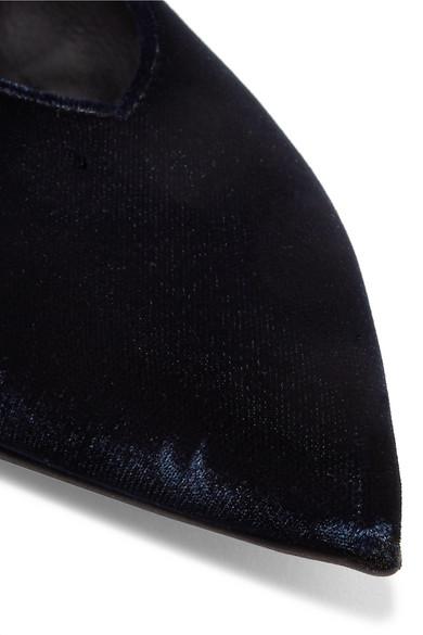 Stella McCartney | Flache aus Schuhe mit spitzer Kappe aus Flache Samt 24f3a9