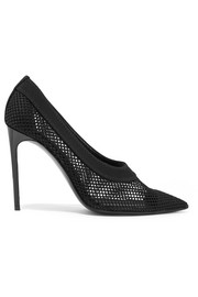 Stella McCartney Fishnet pumps