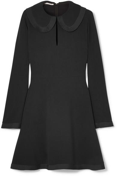 Stella Mccartney Dress Peter Pan collar cady dress