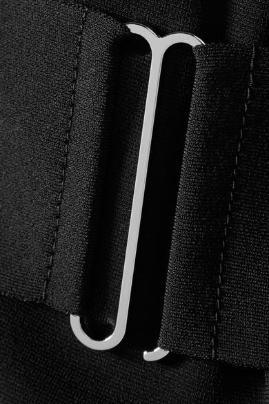 Stella Mccartney Blazers Belted stretch-ponte blazer