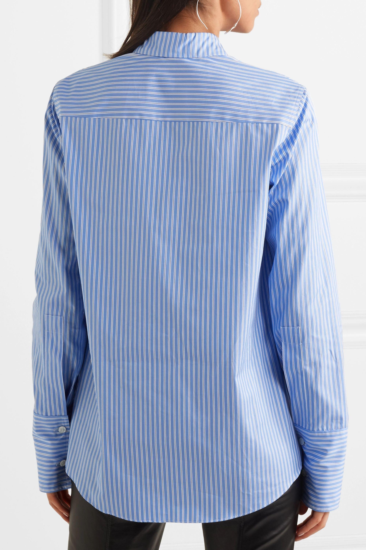 Stella McCartney Striped cotton-poplin shirt