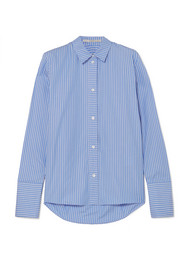 Stella McCartney Striped cotton-poplin shirt