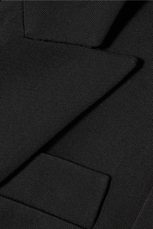 Alexander McQueen Grain de poudre wool blazer