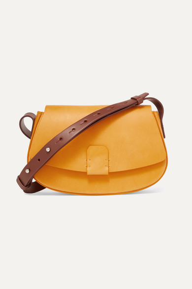 Nico Giani - Lobivia Mini Leather Shoulder Bag - Mustard