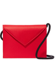 Pen Pal satin shoulder bag