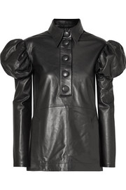 Ellery Breuer leather shirt