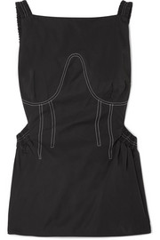 Ellery Marseille cutout twill top