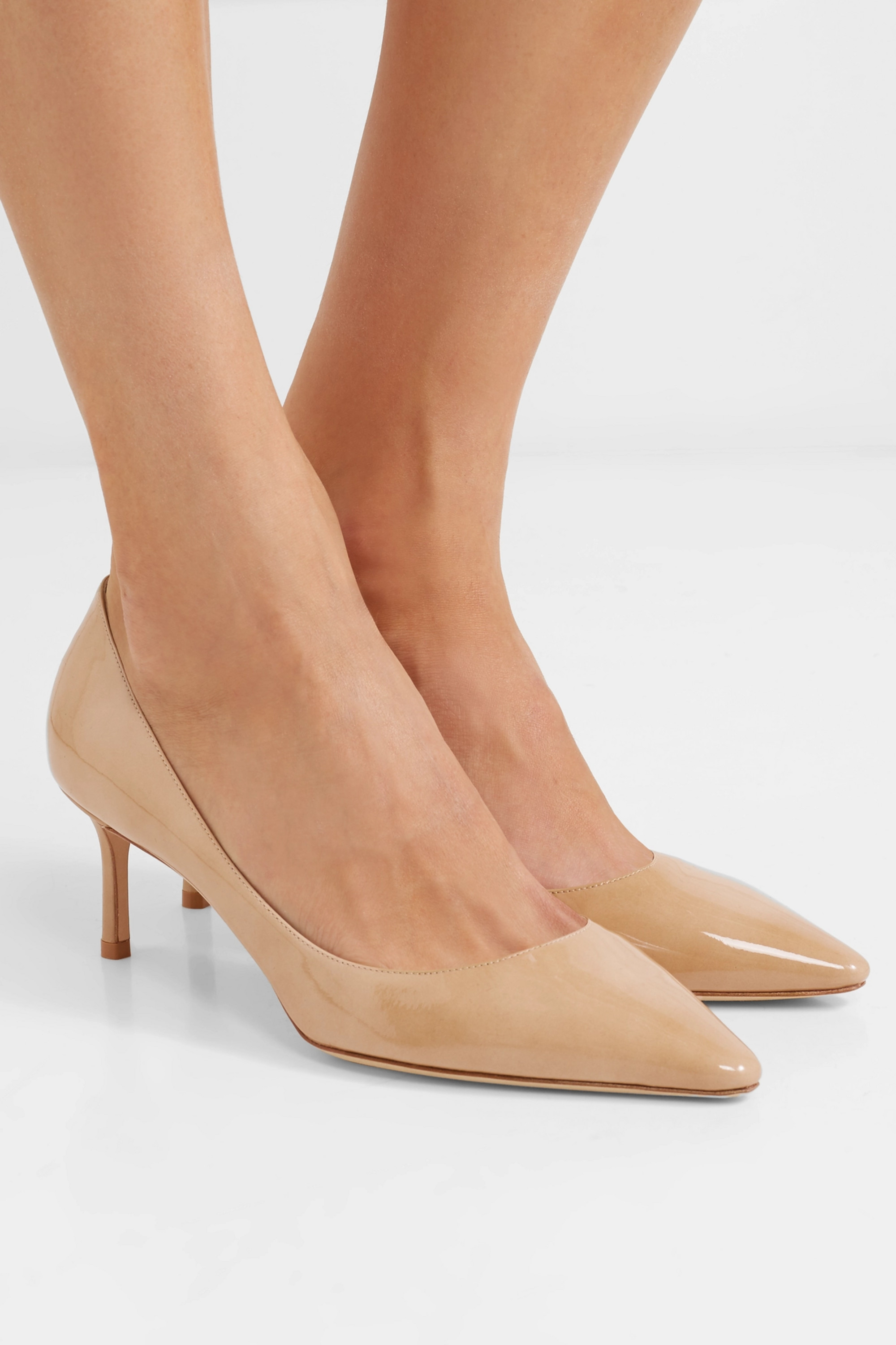 Neutral Romy 60 patent-leather pumps