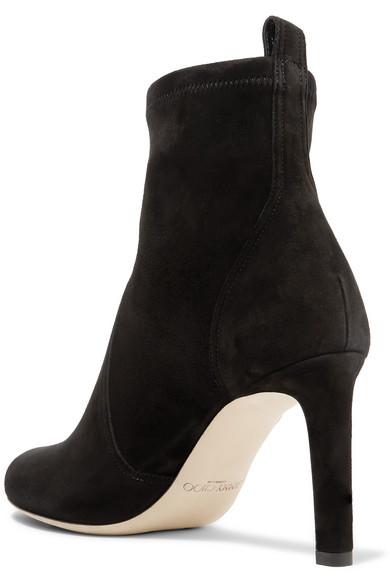 fb6e835a0a4 Jimmy Choo. Mallory 85 suede ankle boots. £340. Reduced further. Play