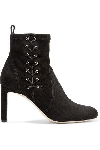 775d2819771 Jimmy Choo | Mallory 85 suede ankle boots | NET-A-PORTER.COM