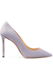Jimmy Choo Romy 100 Pumps aus Veloursleder