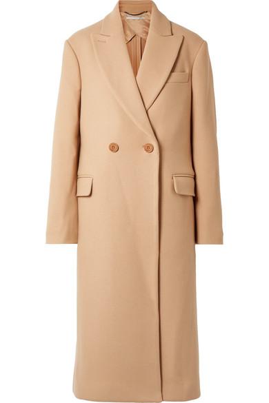 Wool Twill Coat by Stella Mc Cartney