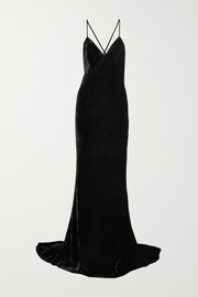 Stella McCartney Paulina velvet gown