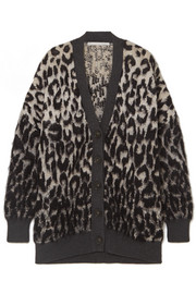 Stella McCartney Brushed jacquard cardigan