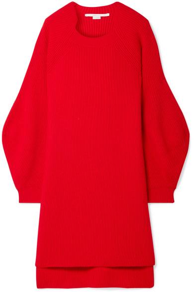 Stella Mccartney Sweaters Oversized ribbed wool sweater