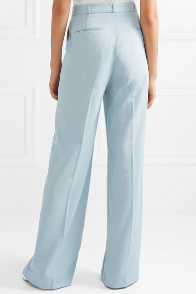 Stella Mccartney Pants Wool straight-leg pants
