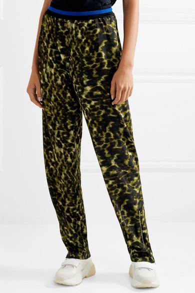 Stella Mccartney Pants Leopard-print jersey pants