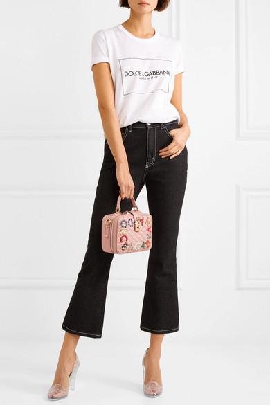 Dolce & Gabbana | mit Cinderella Pumps aus PVC mit | Kristallen 644af7