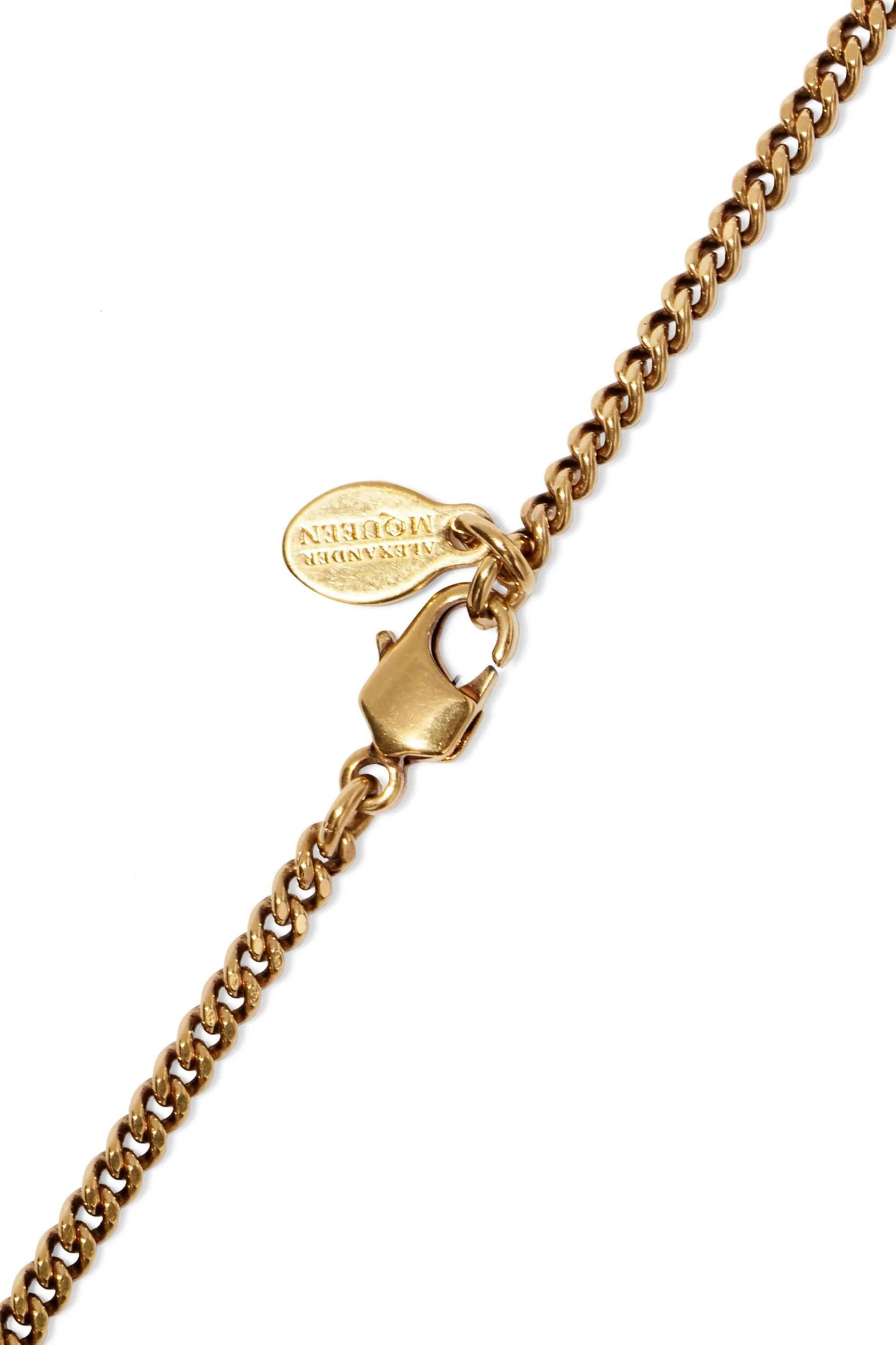 Alexander McQueen Gold-tone necklace