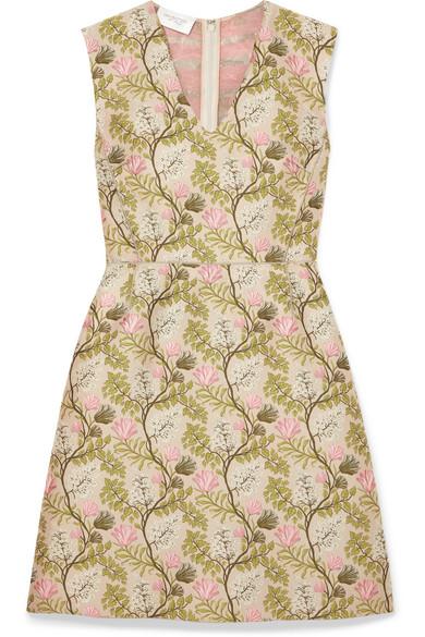 Giambattista Valli - Floral-jacquard Dress - Pink