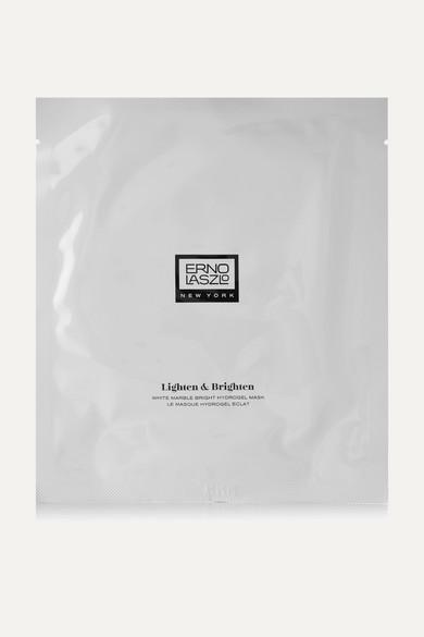 ERNO LASZLO Four-Piece Mask Lighten & Brighten Hydrogel Multipack in Colorless