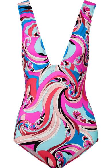ca6a868d87a74 Emilio Pucci   Printed swimsuit   NET-A-PORTER.COM