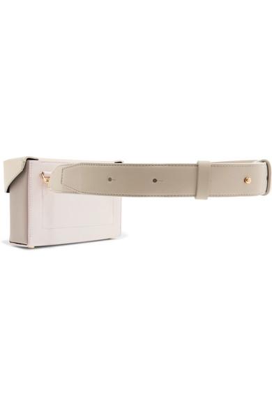Lola Color-block Textured-leather Belt Bag - Tan Yuzefi g6deMBRBaU