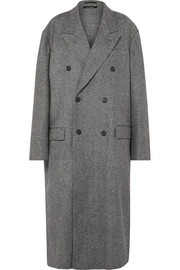 Rokh Oversized double-breasted wool-blend coat