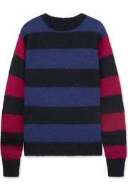 Rokh Striped knitted sweater