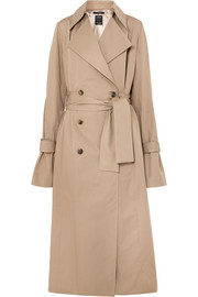 Rokh Oversized cotton-gabardine trench coat